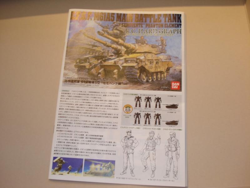 Bandai E.F.G.F M61A5 Main Battle Tank Dsc01817