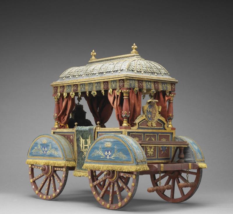 Maquette de carrosse de la renaissance 445_410