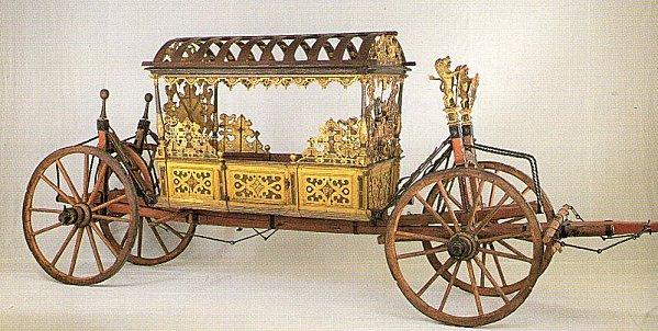 Maquette de carrosse de la renaissance Img05714