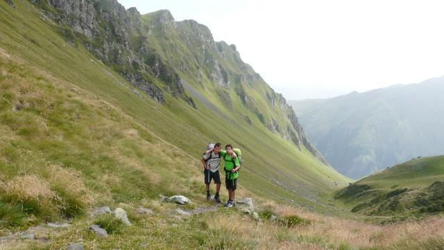 Site naturel energetiquement remarquable  -  pas de Couret d'Esquierry (2131 m) - Pyrénées P1070712