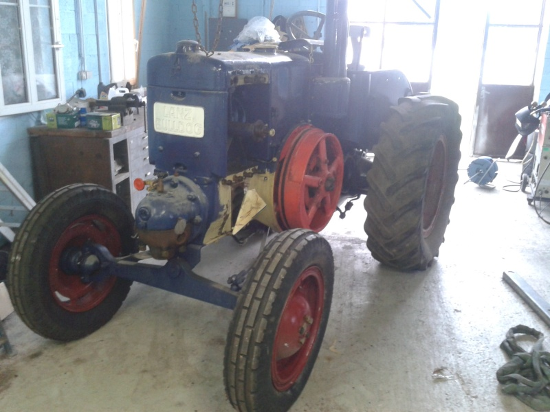 lanz 45cv restoration 12016
