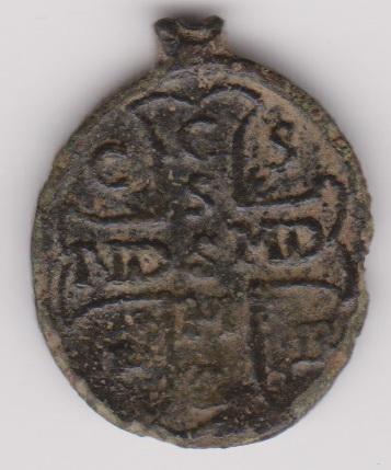 Médaille Saint-Ghislain Mydail11