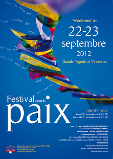 Festival de la Paix les 22 et 23 septembre 2012 Affich11