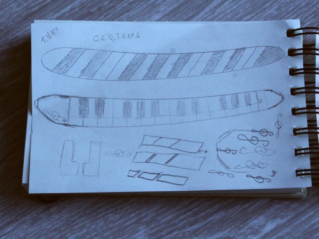 Des chasses de CC à partir de touches de piano : compte-rendu d'un bricoleur du dimanche 14_04_15