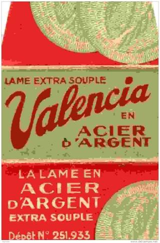 """VALENCIA ou les """"slant"""" à Peigne Ouvert Made in France... 358_0010"""