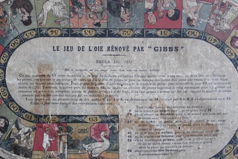Jeu de l'Oie GIBBS de 1923 ou avant Img_1115