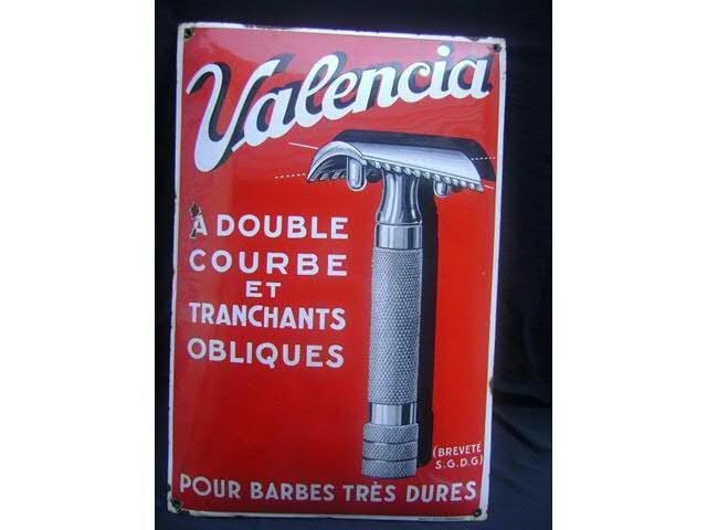 """VALENCIA ou les """"slant"""" à Peigne Ouvert Made in France... Plaque10"""