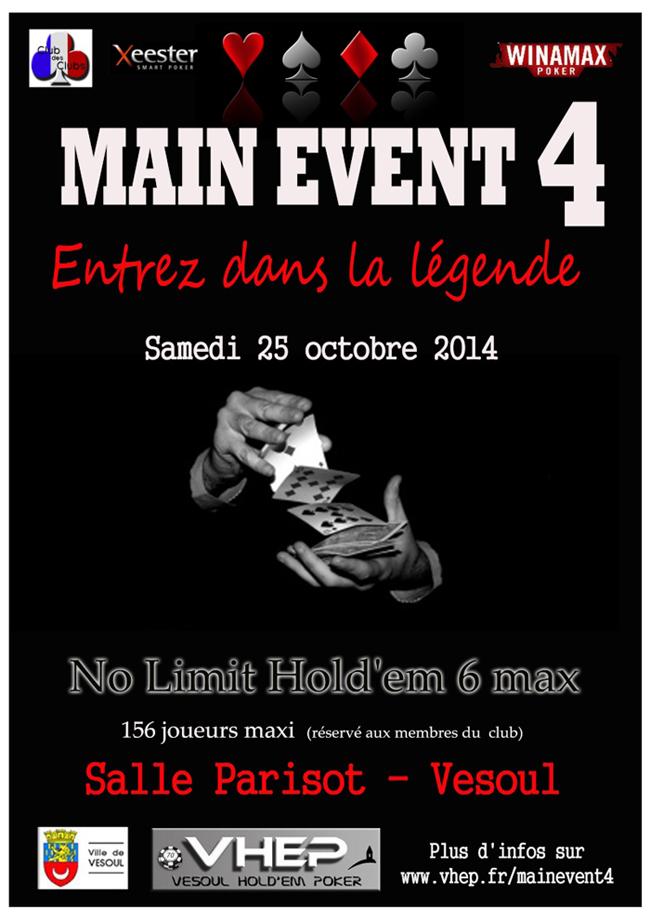 4e Main Event du Vesoul Hold Em Poker Affich11