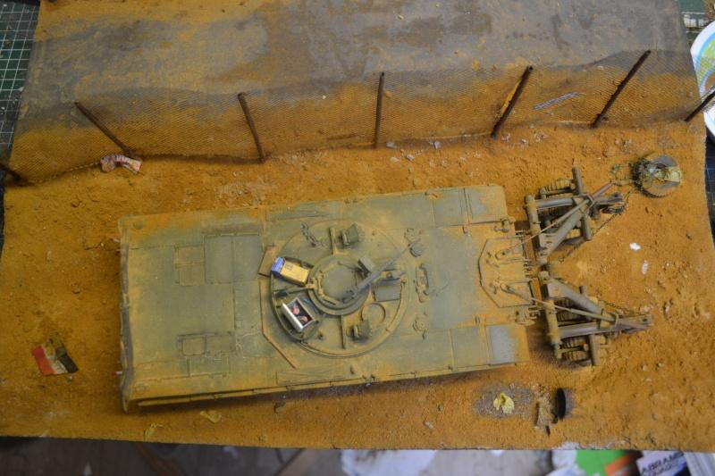 M1 mine rollers et M1 mine plows (dragon et trumpeter 1/35) Dsc_0010
