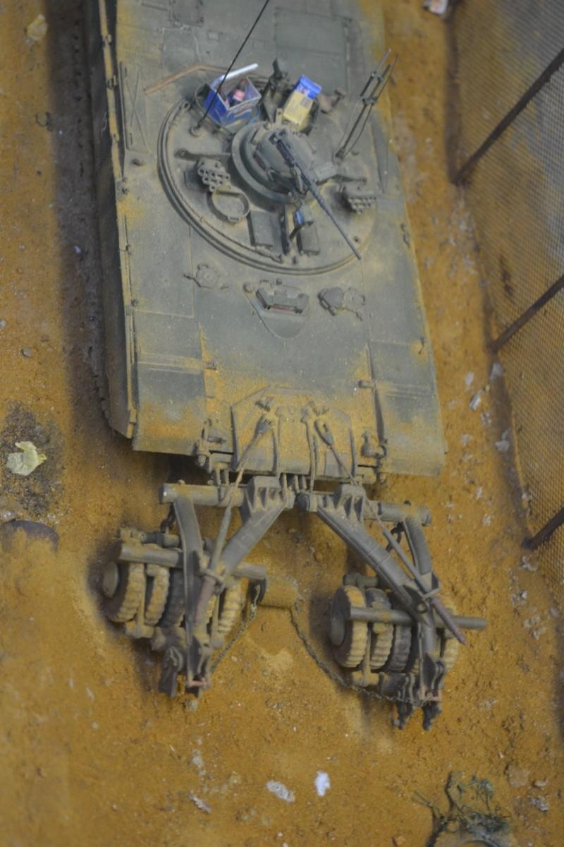 M1 mine rollers et M1 mine plows (dragon et trumpeter 1/35) Dsc_0015