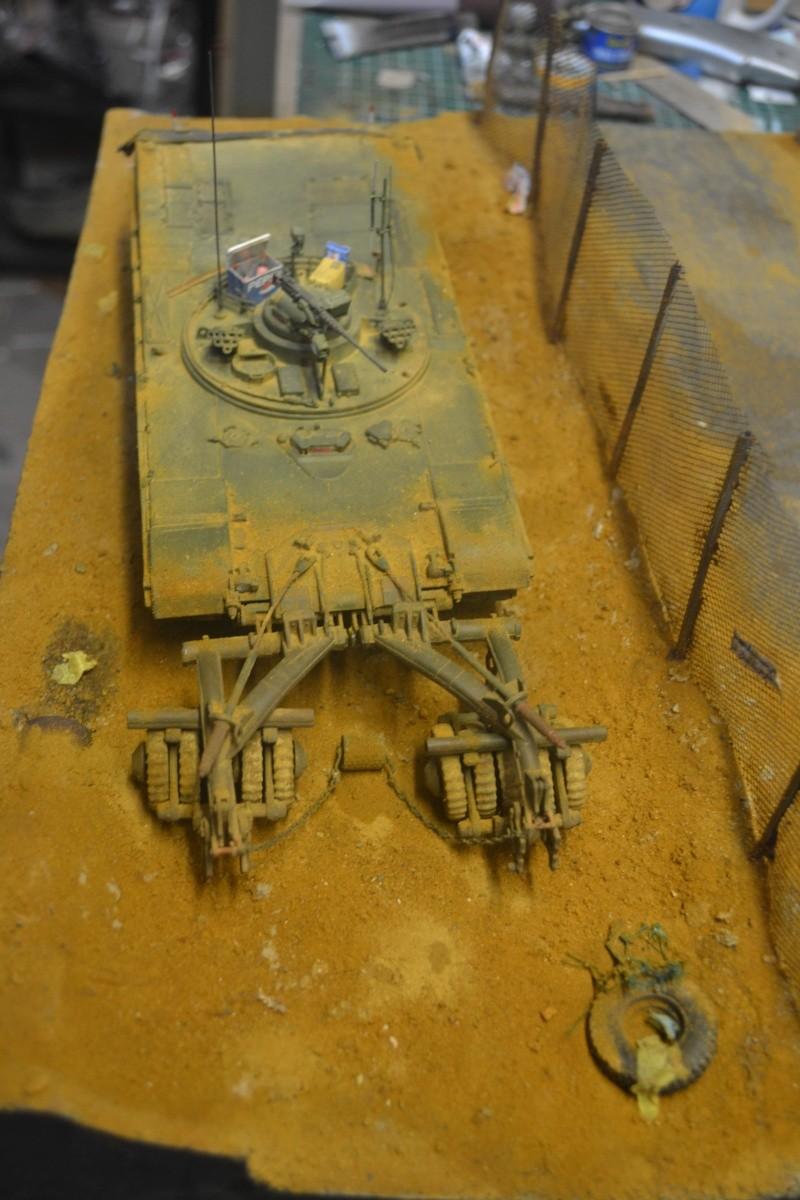 M1 mine rollers et M1 mine plows (dragon et trumpeter 1/35) Dsc_0020