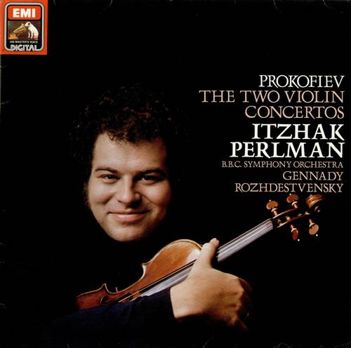 Oeuvres  pour violon de Prokofiev. Prokof11