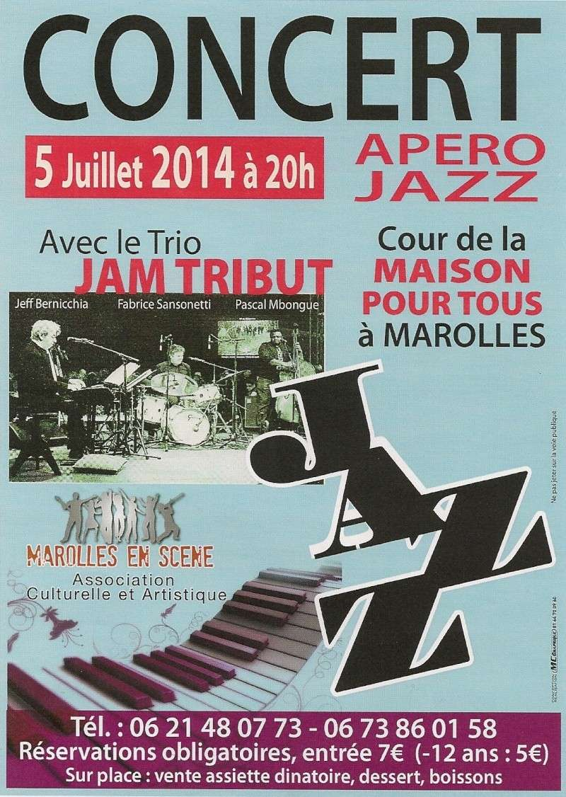 concert de jazz marolles le 5/07/2014 Concer10
