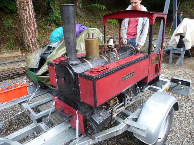 Une tres belle Decauville 020 vapeur en 7pouces 1/4 10_ans17