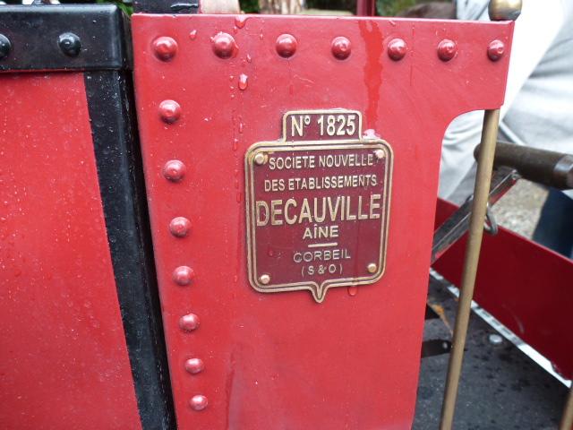 Une tres belle Decauville 020 vapeur en 7pouces 1/4 10_ans19