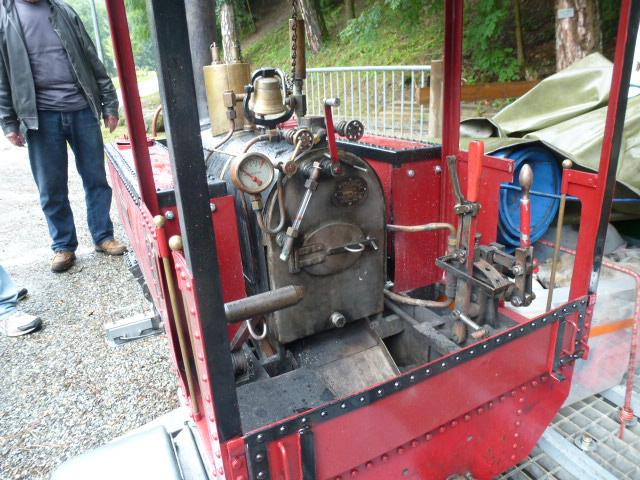 Une tres belle Decauville 020 vapeur en 7pouces 1/4 10_ans23