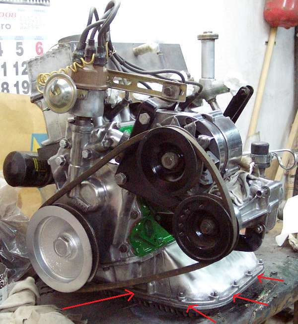 Joint  du carter d'huile Motor210
