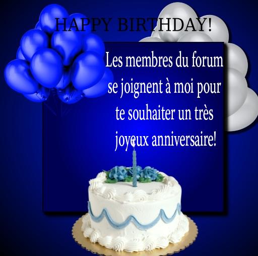 Joyeux anniversaire Choupy 3010