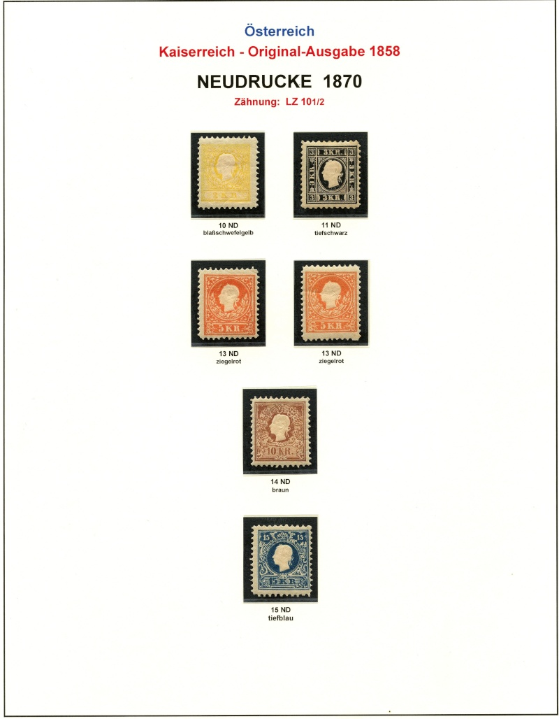 Die Freimarkenausgabe 1858 Type I und II - Seite 2 187011