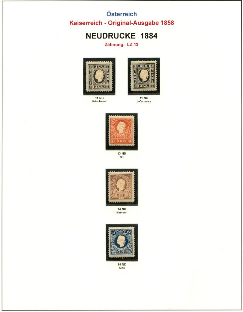 Die Freimarkenausgabe 1858 Type I und II - Seite 2 188411