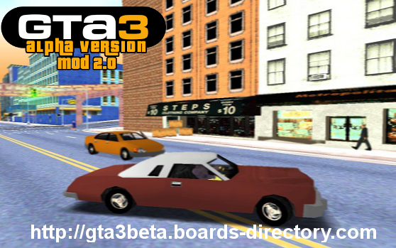 GTa3: Alpha Version Mod 2 0