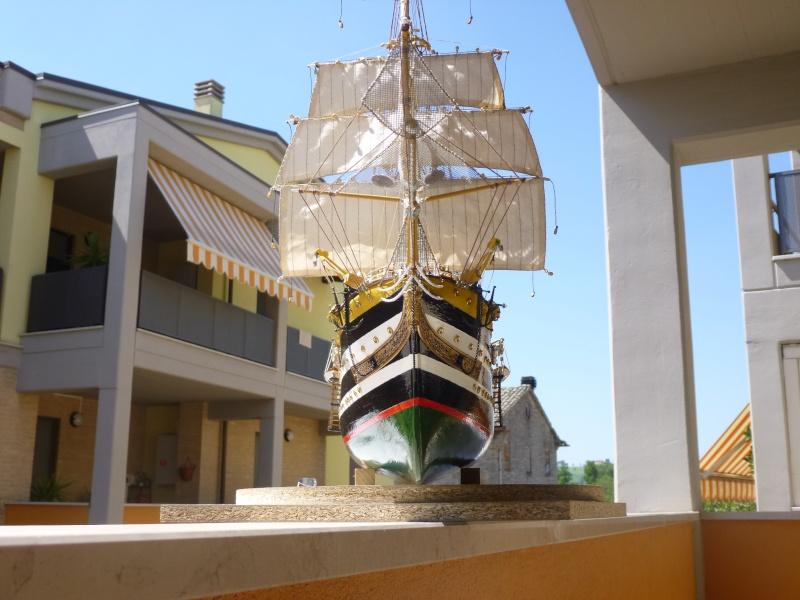 vespucci - Il mio primo cantiere navale, Amerigo Vespucci, scala 1/100 DeA - Pagina 16 P1030210