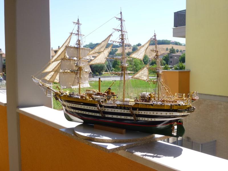 vespucci - Il mio primo cantiere navale, Amerigo Vespucci, scala 1/100 DeA - Pagina 16 P1030211