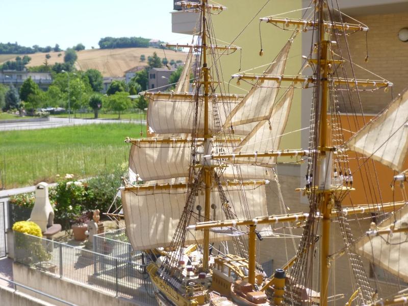 vespucci - Il mio primo cantiere navale, Amerigo Vespucci, scala 1/100 DeA - Pagina 16 P1030212
