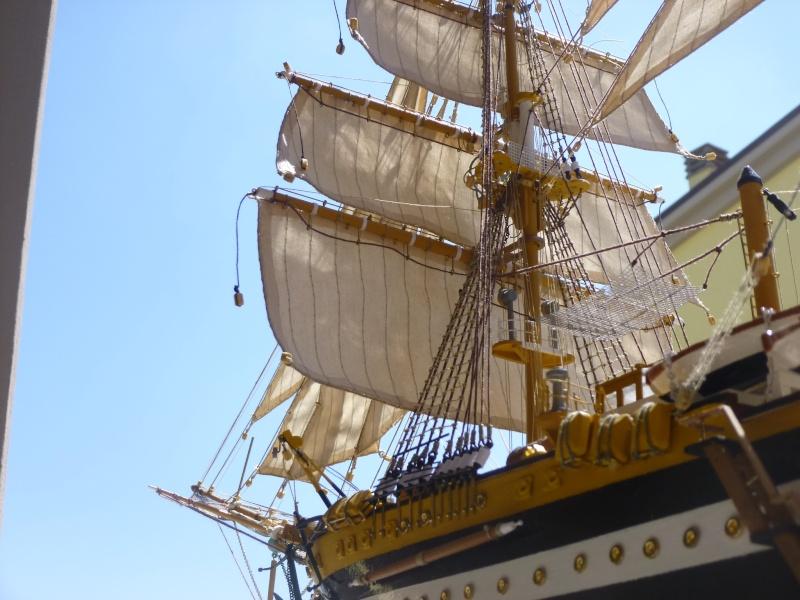 vespucci - Il mio primo cantiere navale, Amerigo Vespucci, scala 1/100 DeA - Pagina 16 P1030213