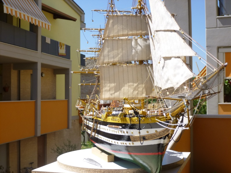 vespucci - Il mio primo cantiere navale, Amerigo Vespucci, scala 1/100 DeA - Pagina 16 P1030214