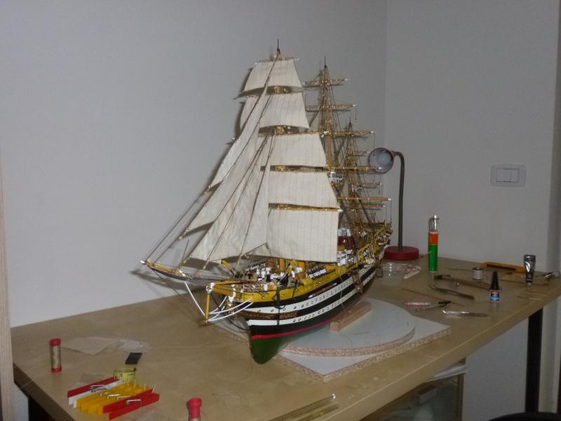 vespucci - Il mio primo cantiere navale, Amerigo Vespucci, scala 1/100 DeA - Pagina 17 P1030215