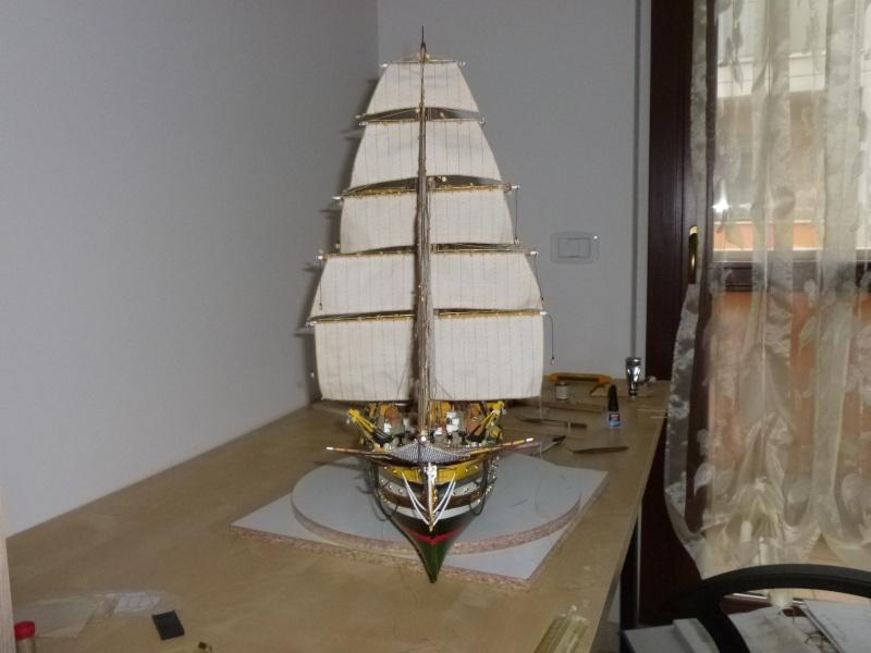 amerigo - Il mio primo cantiere navale, Amerigo Vespucci, scala 1/100 DeA - Pagina 17 P1030217