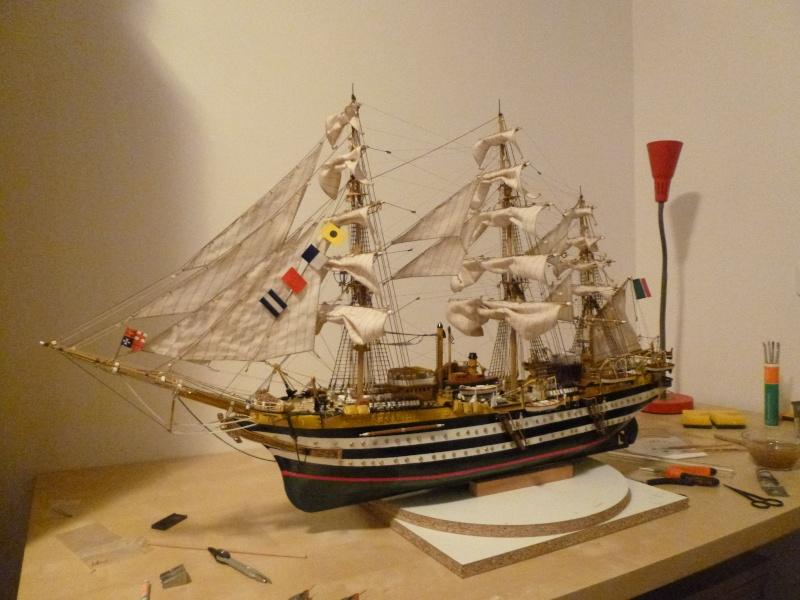 amerigo - Il mio primo cantiere navale, Amerigo Vespucci, scala 1/100 DeA - Pagina 17 P1030219