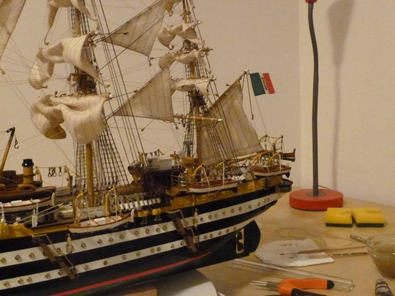 amerigo - Il mio primo cantiere navale, Amerigo Vespucci, scala 1/100 DeA - Pagina 17 P1030220