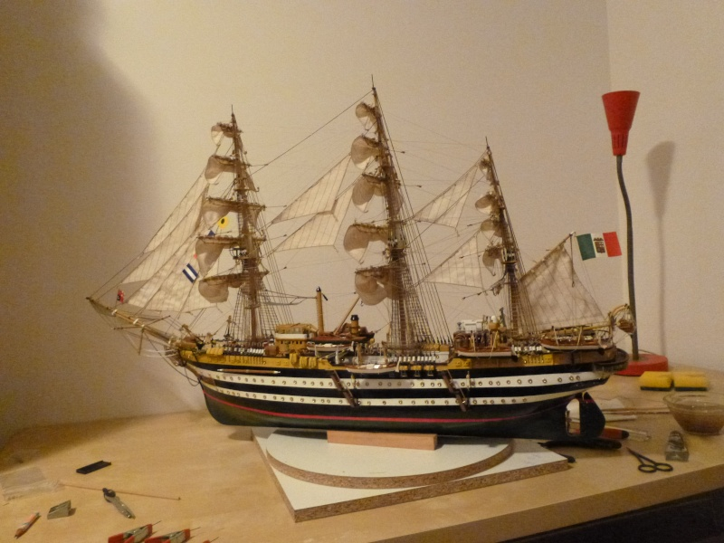 vespucci - Il mio primo cantiere navale, Amerigo Vespucci, scala 1/100 DeA - Pagina 17 P1030221