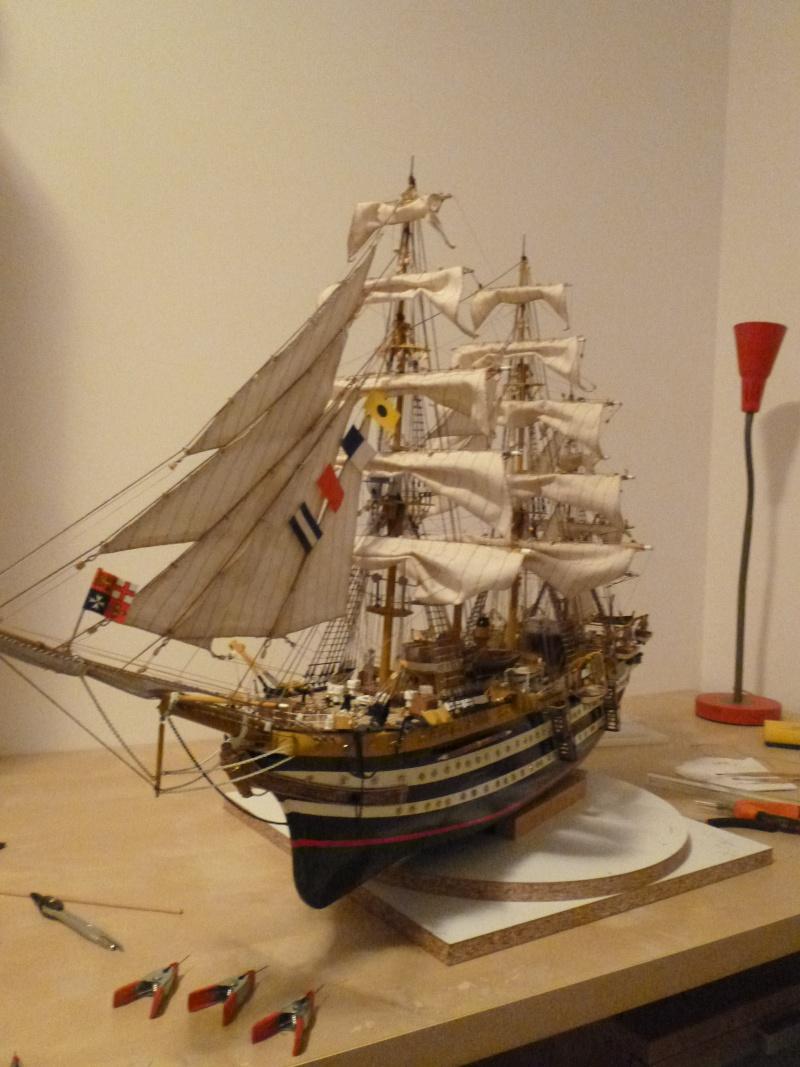 amerigo - Il mio primo cantiere navale, Amerigo Vespucci, scala 1/100 DeA - Pagina 17 P1030222