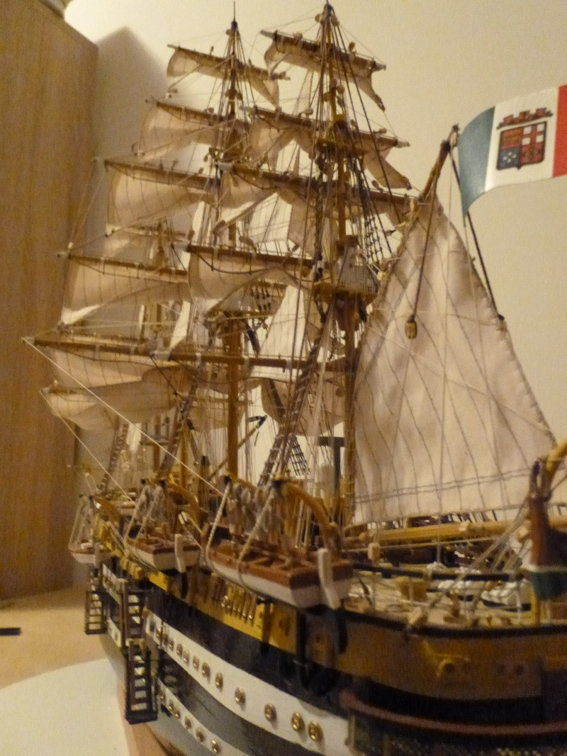 vespucci - Il mio primo cantiere navale, Amerigo Vespucci, scala 1/100 DeA - Pagina 17 P1030223