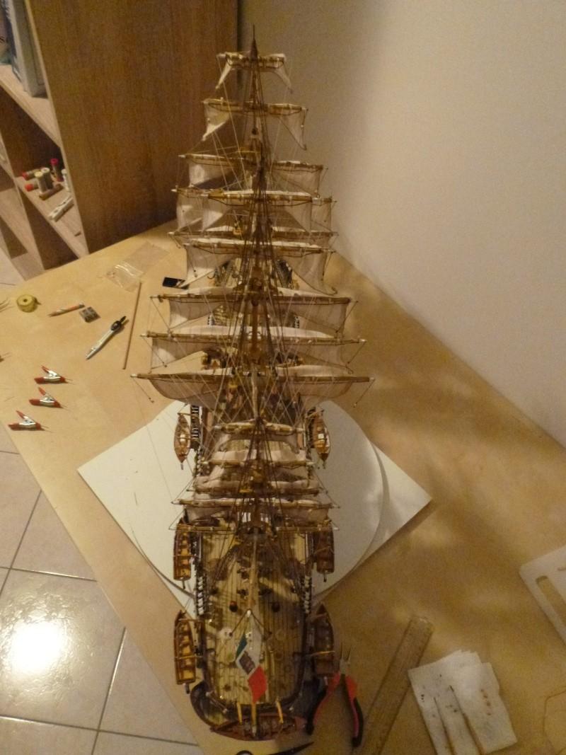 vespucci - Il mio primo cantiere navale, Amerigo Vespucci, scala 1/100 DeA - Pagina 17 P1030224
