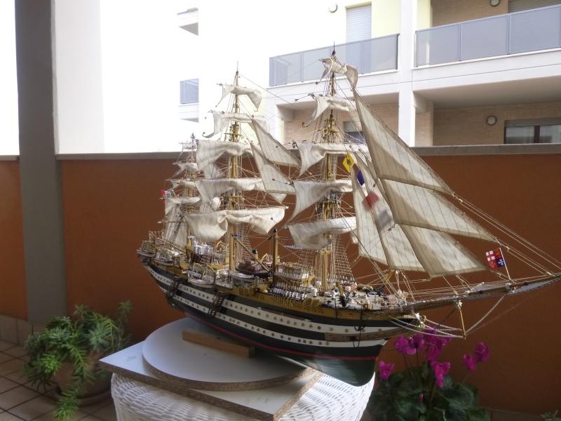 vespucci - Il mio primo cantiere navale, Amerigo Vespucci, scala 1/100 DeA - Pagina 18 P1030225