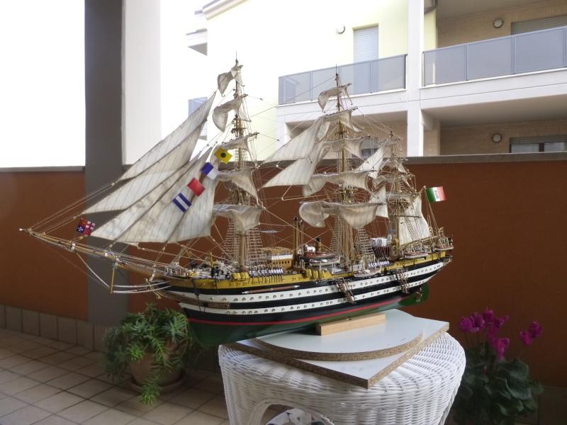 vespucci - Il mio primo cantiere navale, Amerigo Vespucci, scala 1/100 DeA - Pagina 18 P1030226