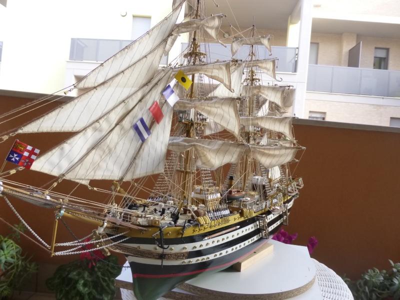 vespucci - Il mio primo cantiere navale, Amerigo Vespucci, scala 1/100 DeA - Pagina 18 P1030228