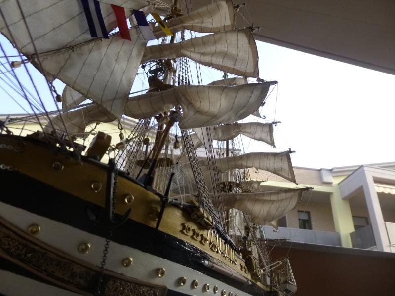 vespucci - Il mio primo cantiere navale, Amerigo Vespucci, scala 1/100 DeA - Pagina 18 P1030229