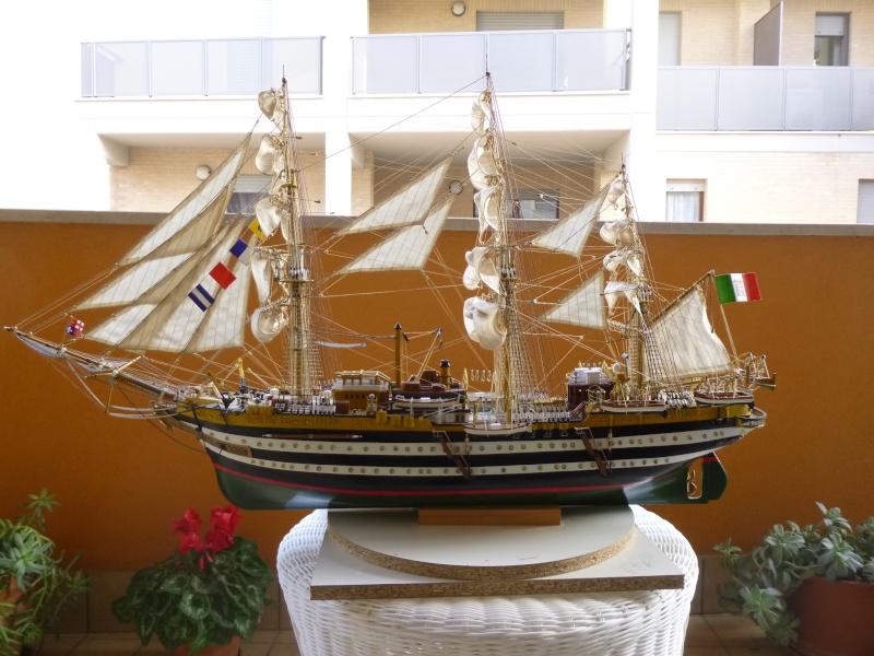 vespucci - Il mio primo cantiere navale, Amerigo Vespucci, scala 1/100 DeA - Pagina 18 P1030230
