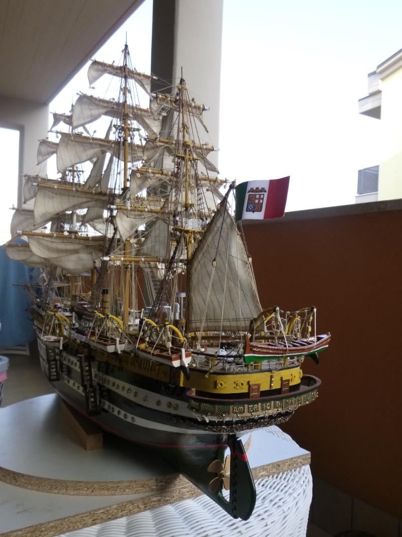 vespucci - Il mio primo cantiere navale, Amerigo Vespucci, scala 1/100 DeA - Pagina 18 P1030231