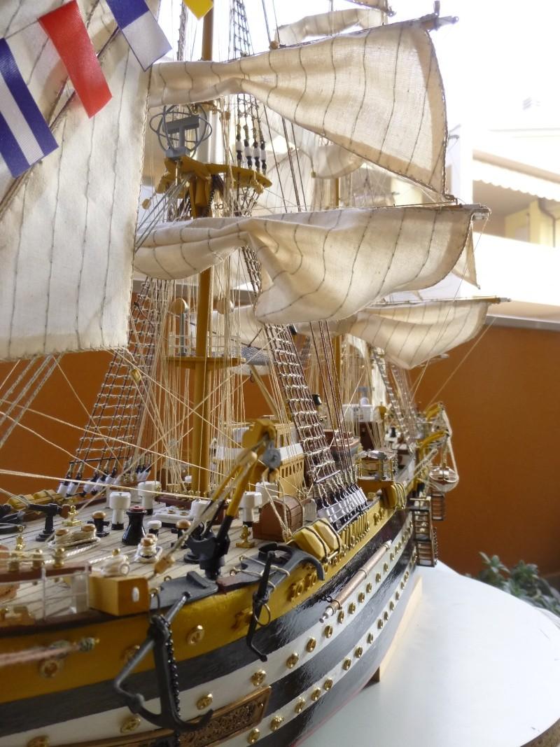 vespucci - Il mio primo cantiere navale, Amerigo Vespucci, scala 1/100 DeA - Pagina 18 P1030232