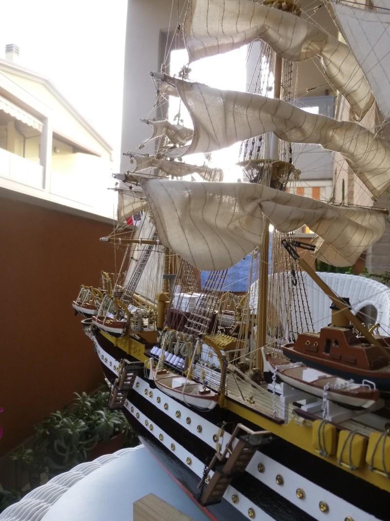 vespucci - Il mio primo cantiere navale, Amerigo Vespucci, scala 1/100 DeA - Pagina 18 P1030233