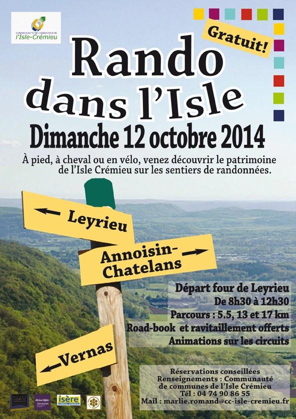 Rando dans l'Isle - Dimanche 12 Octobre 2014 Affich11