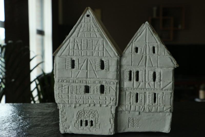 Création d'une maison alsacienne 20141023