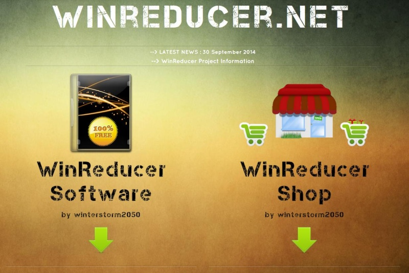[CLOSED] What do you think about the new WinReducer Website (v6.00) ? Winred12