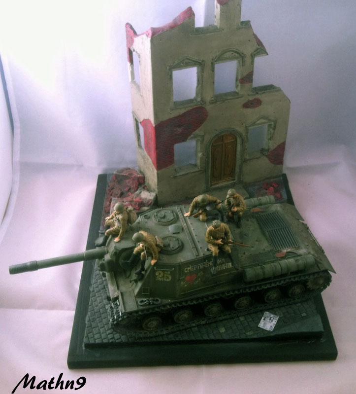 JSU 152 [Cyber Hobby 1/35] w/ Tank Riders Soviet [Dragon 1/35] - Terminé- - Page 3 Img_1710